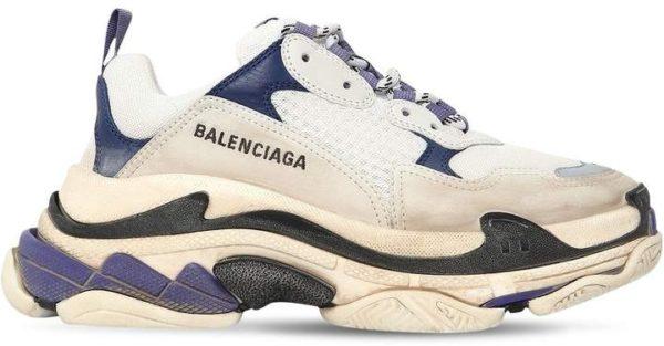 Бежевые кроссовки Balenciaga