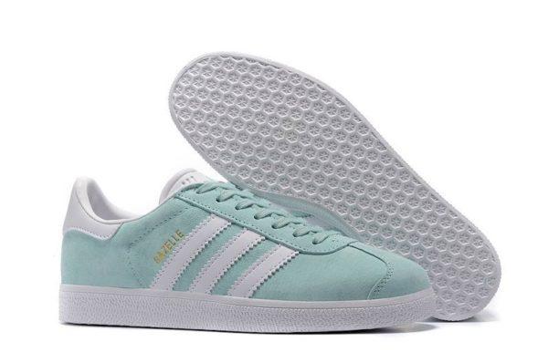 Adidas Gazelle мятные женские
