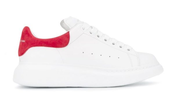 Малиновые женские кроссовки