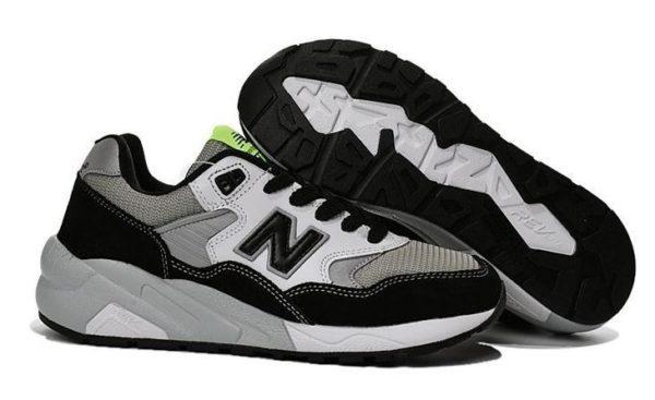 New Balance 580 черно-белые (35-39)