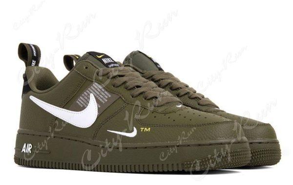Кроссовки хаки Nike