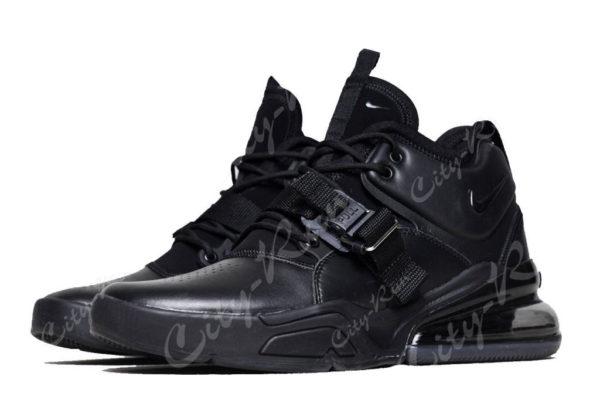 Nike Air Force 270 черные (40-44)