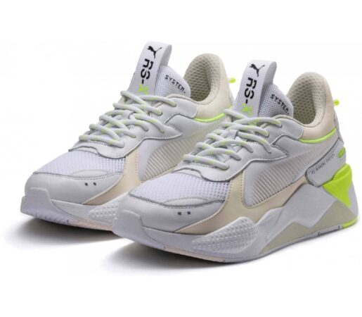 Зеленые кроссовки Puma