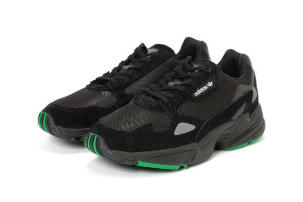 Кроссовки Adidas Falcon черные (35-39)