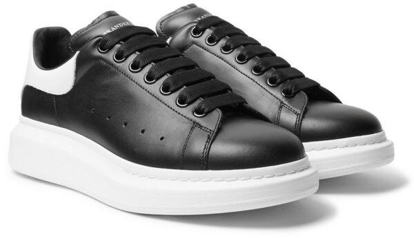 Кожаные кроссовки 35 размера
