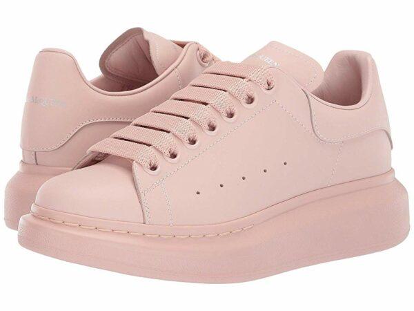 Бежевые кроссовки Alexander McQueen